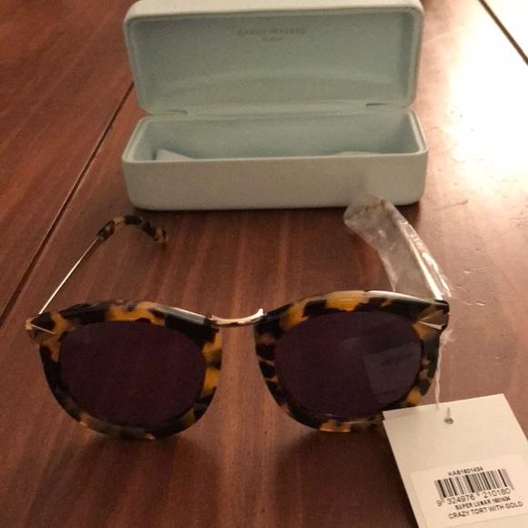 3496ec942fe New  Karen Walker Crazy Tort with Gold sunglasses
